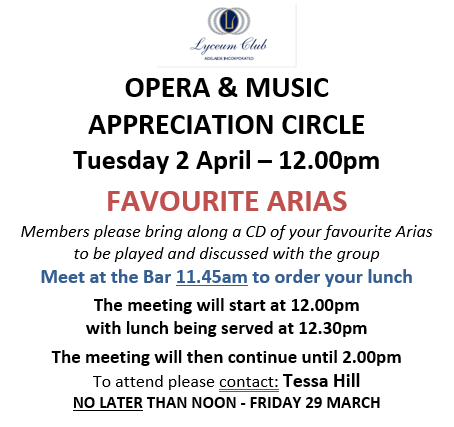 2 APRIL Opera and Music WEB