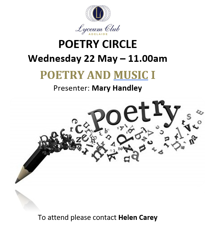 Lyceum Poetry MAY